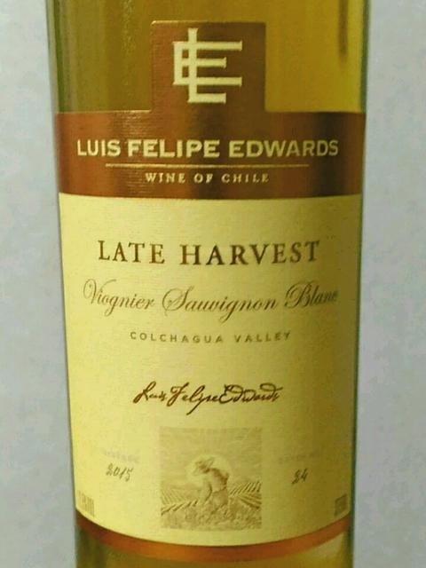 Luis Felipe Edwards Late Harvest Viognier Sauvignon Blanc