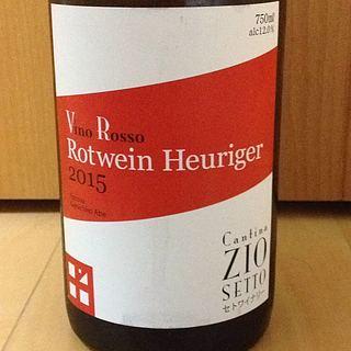 Cantina Zio Setto Vino Rosso Rotwein Heuriger(カンティーナ・ジーオセット ヴィーノ・ロッソ ロートヴァイン・ホイリゲ)