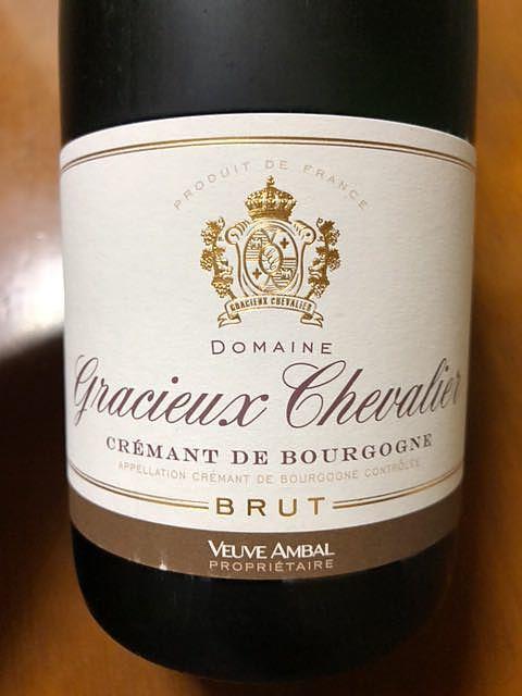 Dom. Gracieux Chevalier Crémant de Bourgogne Brut