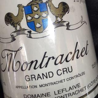 Dom. Leflaive Montrachet Grand Cru