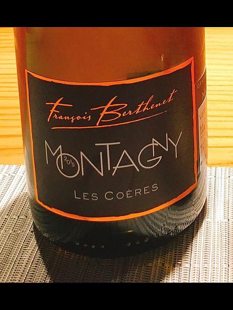 François Berthenet Montagny 1er Cru Les Coëres(フランソワ・ベルトネ モンタニー プルミエ・クリュ レ・コエール)