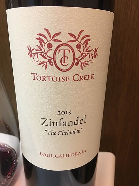 Tortoise Creek Zinfandel The Chelonian
