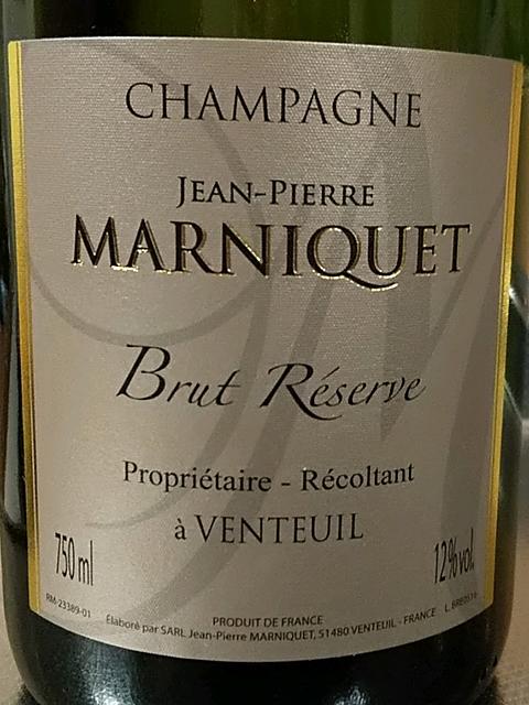 Jean Pierre Marniquet Brut Réserve(ジャン・ピエール・マルニケ ブリュット・レゼルヴ)