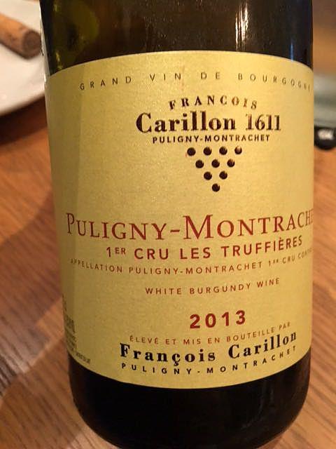 François Carillon Puligny Montrachet 1er Cru Les Truffières
