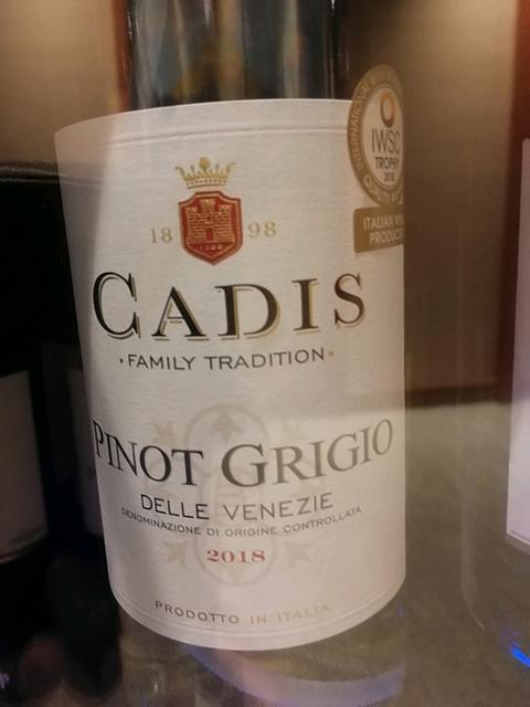 Cadis Pinot Grigio delle Venezie(カディス ピノ・グリージョ)