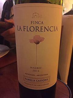 Familia Cassone Finca La Florencia Malbec