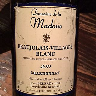 Dom. de la Madone Beaujolais Villages Blanc