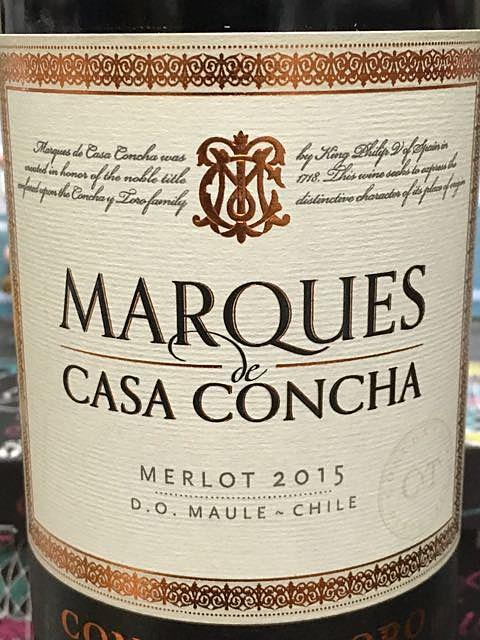 Marques de Casa Concha Merlot
