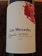 Las Mercedes Singular Carménère(2015)