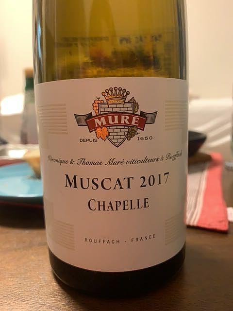 Muré Muscat Chapelle(ミューレ ミュスカ シャペル)