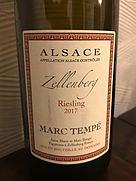 マルク・テンペ リースリング ツェレンベルグ
