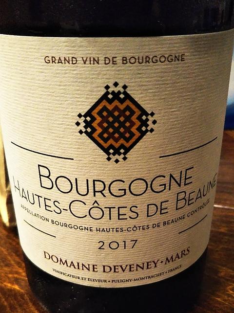 Dom. Deveney Mars Bourgogne Hautes Côte de Beaune Rouge(ドメーヌ・ドゥヴニ・マルス ブルゴーニュ・オート・コート・ド・ボーヌ ルージュ)