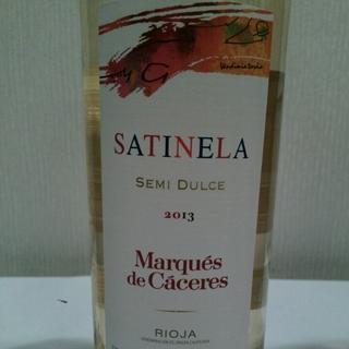 Marqués de Cáceres Satinela Semi Dulce