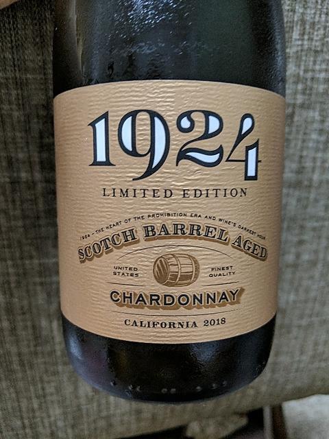Gnarly Head 1924 Limited Edition Scotch Barrel Aged Chardonnay(ナーリー・ヘッド 1924 スコッチ・バレル・エイジド シャルドネ)