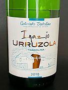 Inazio Urruzola Txakolina(2019)