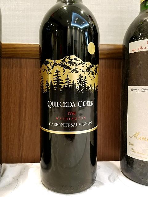 Quilceda Creek Cabernet Sauvignon 1990