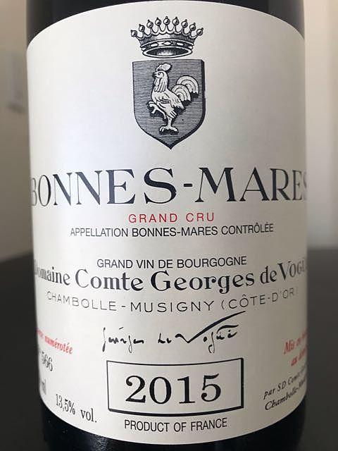 Dom. Comte Georges de Vogüé Bonnes Mares Grand Cru