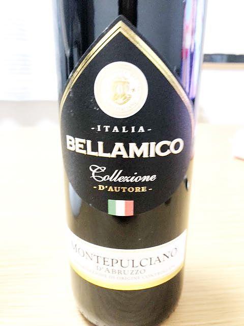 Bellamico Montepulciano d'Abruzzo Collezione d'Autore(ベラミコ モンテプルチャーノ・ダブルッツォ)