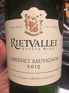 Rietvallei Classic Cabernet Sauvignon(リエトヴァレイ クラッシック カベルネ・ソーヴィニヨン)