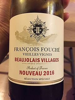 François Fouché Beaujolais Villages Nouveau Vieilles Vignes(フランソワ・フッシェ ボージョレ・ヴィラージュ・ヌーヴォー ヴィエイユ・ヴィーニュ)