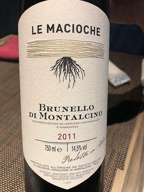 Le Macioche Brunello di Montalcino(レ・マチョーケ ブルネッロ・ディ・モンタルチーノ)