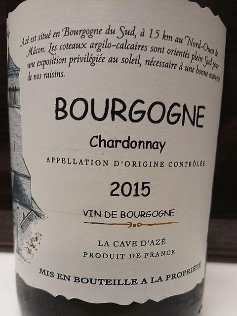 La Cave d'Azé Bourgogne Chardonnay
