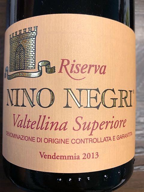 Nino Negri Valtellina Superiore Riserva