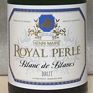 Henri Maire Royal Perlé Blanc de Blancs Brut(アンリ・メール ロイヤル・ペルレ ブラン・ド・ブラン ブリュット)