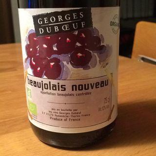 Georges Duboeuf Beaujolais Nouveau Organic