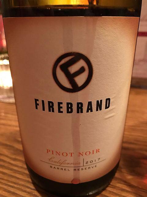 Firebrand Pinot Noir(ファイヤーブランド ピノ・ノワール)