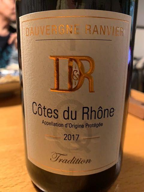 Dauvergne Ranvier Côtes du Rhône de Natura Rerum