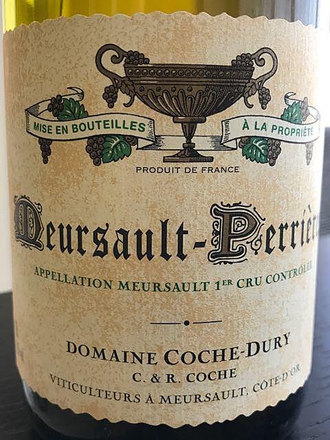 Dom. Coche Dury Meursault Perrières 1er Cru