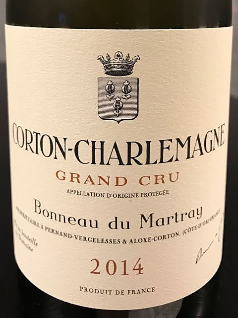 Bonneau du Martray Corton Charlemagne Grand Cru