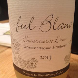 Hitomi Winery -ful Blanc