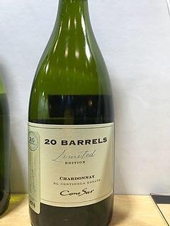 Cono Sur 20 Barrels Chardonnay Limited Edition(コノ・スル 20・バレル シャルドネ リミテッド・エディション)