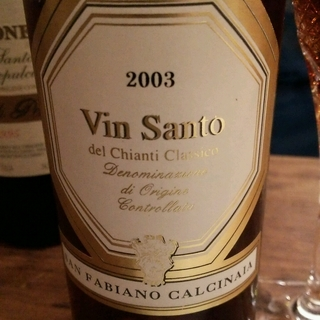 San Fabiano Calcinaia Vin Santo del Chianti Classico