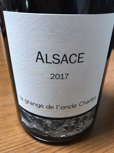 La Grange de l'Oncle Charles Alsace Blanc(ラ・グランジュ・デ・ロンクル・シャルル アルザス ブラン)