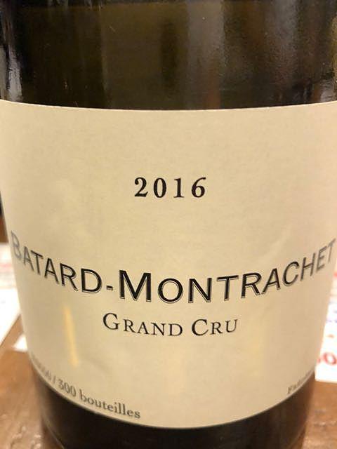 Frédéric Cossard Bâtard Montrachet Grand Cru(フレデリック・コサール バタール・モンラッシェ グラン・クリュ)