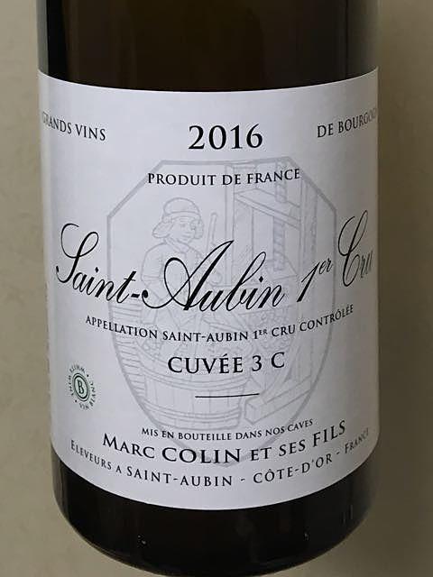 Marc Colin et Fils Saint Aubin 1er Cru Cuvée 3 C