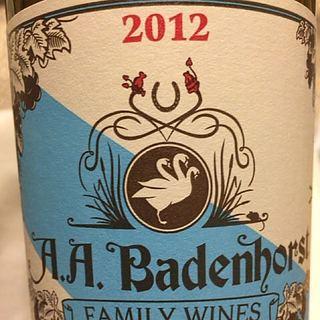 A.A. Badenhorst Family Wines White Blend 2012(アディ・バーデンホースト・ファミリー・ワインズ ホワイト・ブレンド)