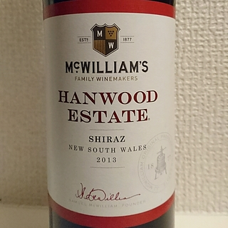 McWilliam's Hanwood Estate Shiraz(マクウィリアムズ ハンウッド・エステート シラーズ)