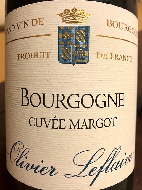 Olivier Leflaive Bourgogne Cuvée Margot(オリヴィエ・ルフレーヴ ブルゴーニュ キュベ・マルゴット)
