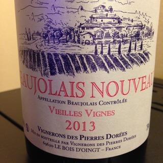 Vignerons des Pierres Dorées Beaujolais Nouveau Vieilles Vigne