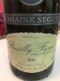 Dom. Seguin Pouilly Fumé(ドメーヌ・セガン プイィ・フュメ)