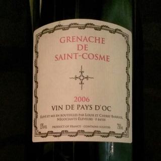 Grenache de Saint Cosme(グルナッシュ・ド・サン・コム)