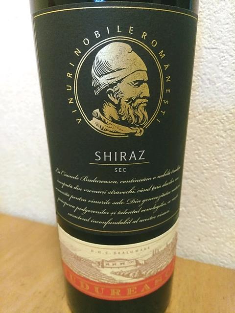 Budureasca Premium Shiraz Sec