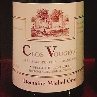 Dom. Michel Gros Clos Vougeot Grand Maupertuis Grand Cru