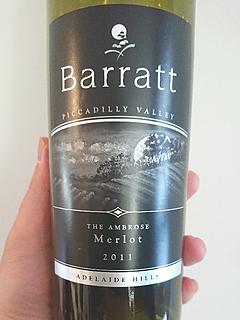 Barratt The Ambrose Merlot