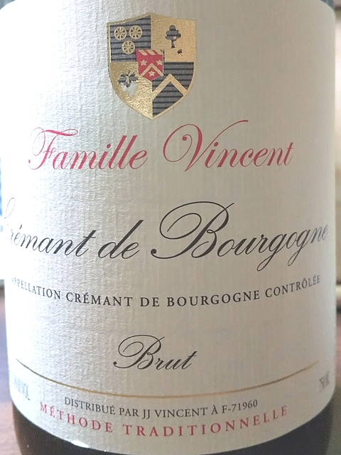 Famille Vincent Crémant de Bourgogne Brut(ファミーユ・ヴァンサン クレマン・ド・ブルゴーニュ ブリュット)