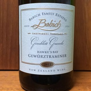 Babich Family Estates Gimblett Gravels Gewürztraminer